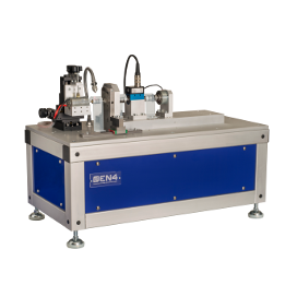 Small size electric motors test bench